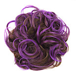 Wig Purple 5CM High-Temperature Wire Color Hair Ring Colour 2/30-3533