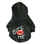 Dog Hoodie / Hoodie Simple color / Spring And Fall  Floral / Lips Fashion