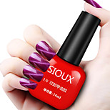 SIOUX Cat Eye Red Glitters 6ML Nail Glue Nail Polish for 2 Years