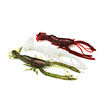 3Pcs/Bag 10.5cm/6.1g Luminous Pearl Soft Big Shrimp Bait Shrimp Soft Lures Wholesale