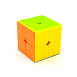 Magic Cube IQ Cube Yongjun Two-layer Speed Smooth Speed Cube Magic Cube puzzle Rainbow ABS