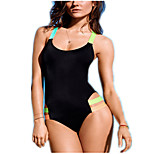 Women Color Shoulder Straps Hanging Piece Halter Bikini Swimsuit