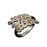 Hot Sale lady gold plated daily Statement Ring