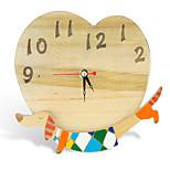 Holz Hund Uhr