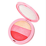 By Nanda® 3 Blush Ice Cream Feel Baked Pressed powder Rosy Face