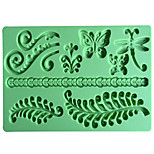 Fern Fondant and Gum Paste Mold DIY Butterfly Silicone Embossing Mat