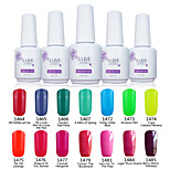 ILuve Nail Polish For Nail Art UV Gel Odorless Long Lasting Soak Off 15ml/per Bottle  238 Color Choices GLA1464-1485