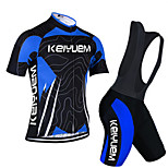 KEIYUEM®Others Unisex Short Sleeve Spring / Summer / Mountain Bike Cycling Clothing Bib Suits/ Breathable Quick Dry#26