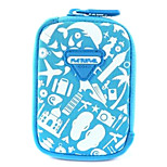 Lovely Camera Case for Canon sx240hs  10.5*7*2 Blue