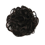 Wig Black 6CM High-Temperature Wire Hair Circle Colour 2/33