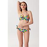 Color Bikini Swimsuit