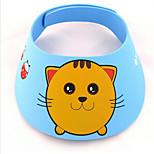 Cartoon Shower Cap  Bath And Sunshade Protect Soft Cap Hat For Baby Children Kids