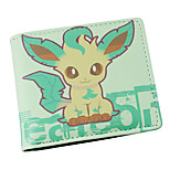 Inspired By Pocket Little Monster Leafeon PU leather Wallet