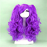 2 Colors Cosplay Wig  Long Curly  Synthetic Hair Heat Resistant Cosplays Party Wigs