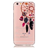 TPU Dreamcatcher Pattern Transparent Soft Back Case for iPhone 6s 6 Plus