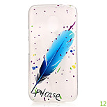 For Motorola Moto G4  TPU Soft Transparent Colorful Patterns Design Rubber Silicone Cell Phone Case Cover