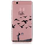 Faith Pattern TPU Material Phone Case for Huawei P9/P9 Lite
