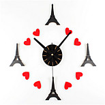 Paris Eiffel Tower DIY Wall Clock