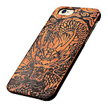 Back Cover Ultra-thin / Frosted / Other Other Wooden Hard wooden,Chinese DragonCase Cover ForApple iPhone 6s Plus/6 Plus / iPhone 6s/6