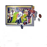 Desenho Animado / Abstracto / Fantasia / Esportes / 3D / Pessoas Wall Stickers Autocolantes de Aviões para Parede,pvc 100*70cm