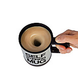 Auto Self Stirring Mug Drinks Tea Coffee Funny Electric Mixing Cup Gift Work(Random Colors)