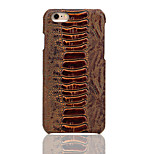 Fierre Shann® Amber Pattern Cowhide Grain Leather Case for the iphone 6/6S/6 PLUS/6S PLUS