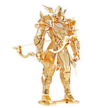Jigsaw Puzzles 3D Puzzles / Metal Puzzles Building Blocks DIY Toys Warrior Metal Gold Model & Building Toy