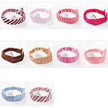 Women's Headband Type 00077 Random Color Random Pattern