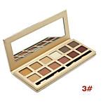 Miss Rose Makeup Matte Eye Shadow Palette 12 Colors Professional Colorful Eyeshadow Long-wear Waterproof Maquiagem