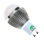 Zweihnder W467 GU10 3W 280LM Warm White/White Light LED Milky Cover Energy-Saving Bulbs