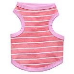 Dog Vest / Vest A variety of colors / Summer  Floral / Stripe Fashion