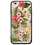 6S iphone plus / 6 / iPhone 6S / 6 TPU morbido fiore colorato coperchio posteriore