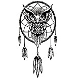 aw9524 Animals Wall Decals Landscape Owl Stickers Abstract Wall Stickers Plane Wall Stickers,vinyl 56*80cm