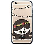 iPhone 6s Plus/6/iPhone 6s/6 Little Girl TPU Soft Back Cover