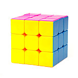 Magic Cube IQ Cube Yongjun Three-layer Speed Smooth Speed Cube Magic Cube puzzle Rainbow ABS