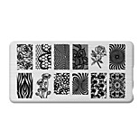 BlueZOO Rectangle Printing Nail Art Stamping (C-033)