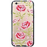 6S iphone plus / 6 / iPhone 6S / 6 TPU fiori copertura posteriore molle