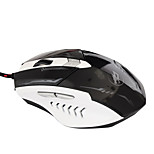 War Wolf 6D Wired Gaming Mouse 2400dpi 7 Colors Backlit Breathing Light for LOL/CF/DOTA