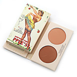 New Professional Makeup Palette Blush Bronzer Baked Cheek Color Blusher Palette Face Power Cosmetics