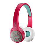moda original s100 rapoo bluetooth 4.1 auriculares estéreo de auriculares de alta fidelidad cubierta reemplazable con micrófono rosa