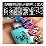 1pcs  New Nail Art Stamping Plates  DIY  Image Templates Tools Nail Beauty XY-J01