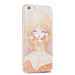 Kakashi Flower Princess Series TPU Painting Soft Case for iPhone 6s / 6 /6s Plus / 6 Plus(Sorbariasorbifolia)