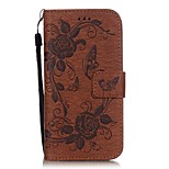 The Butterfly Pattern Printing PU Leather Wallet Case for iPhone 6/6s/6 Plus/6s Plus(Assorted Colors)