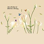 Botanisch / Worte & Zitate / Stillleben / Mode / Blumen / Freizeit Wand-Sticker Flugzeug-Wand Sticker,PVC 90*60*0.1