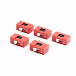 YS4 1-digit DIP Switch - Red + White (5 PCS)