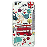 Ultra-thin Cartoon Protection Matte Relief For Huawei honor6(London Style)