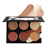 6 Concealer/Contour Wet CreamCoverage / Whitening / Concealer / Uneven Skin Tone / Natural / Other / Pore-Minimizing / Anti-Acne /