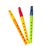 Yellow/Green Child Flute for Children All Musical Instruments Toy Random Delivery