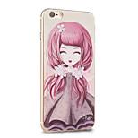 Kakashi Blume Prinzessin Serie tpu Malerei weichen Fall für iphone 6s / 6 / 6S plus / 6 plus (Viburnum)