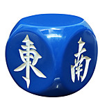 Royal San Resin Materials, Environmental Protection And Durable Mahjong Wind Direction 30 Mm Dice Match Regular White